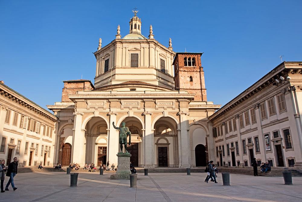Basilica of San Lorenzo Maggiore | © Birute Vijeikiene/Shutterstock