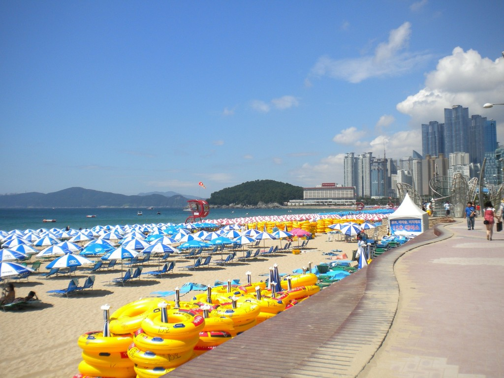 Towns in South Korea, Fantastic Beaches of Busan, South Korea