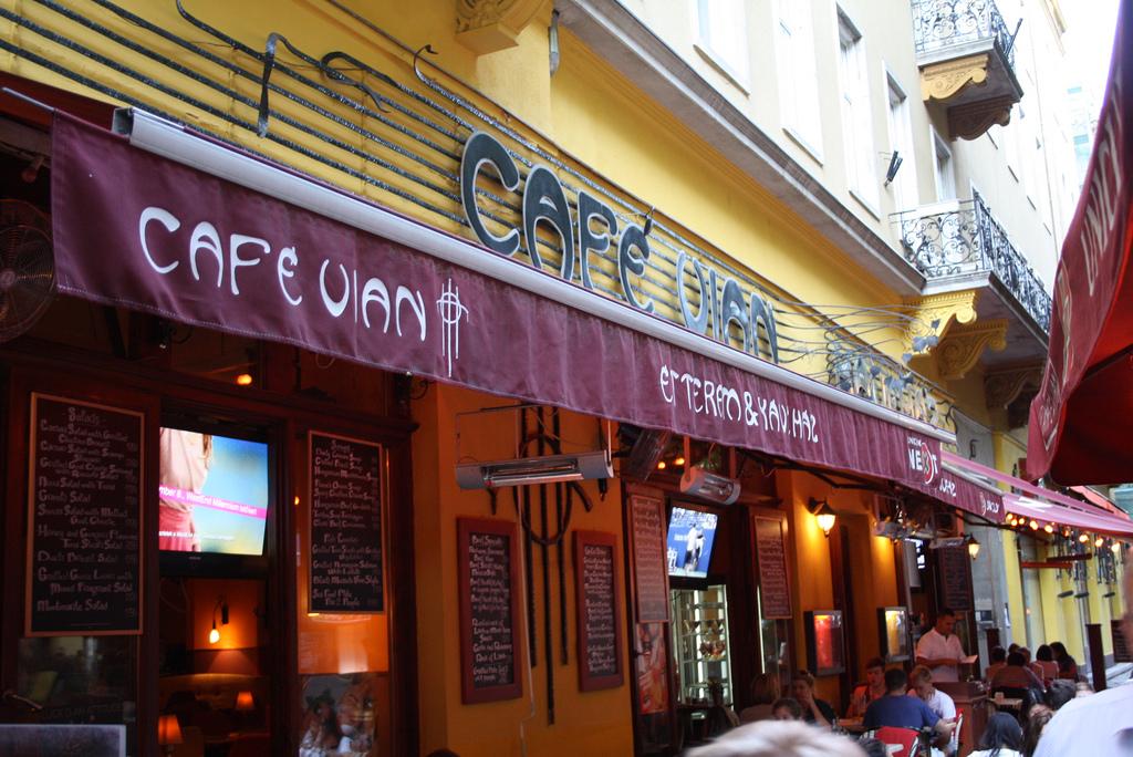 Cafe Vian Budapest Menu