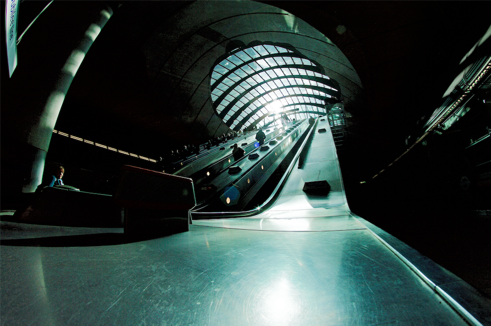 Canary Wharf Underground | Courtesy of Jesse Stafford