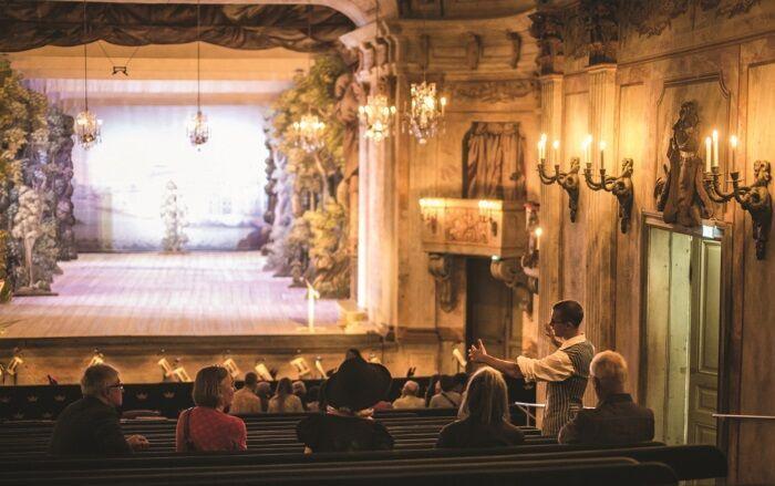 Drottningholm Theater | © Elias Gammelgård