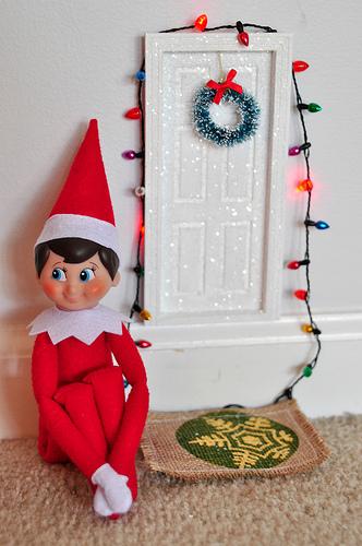 'Elf on the shelf' | © Melissa Hillier/Flickr Upload
