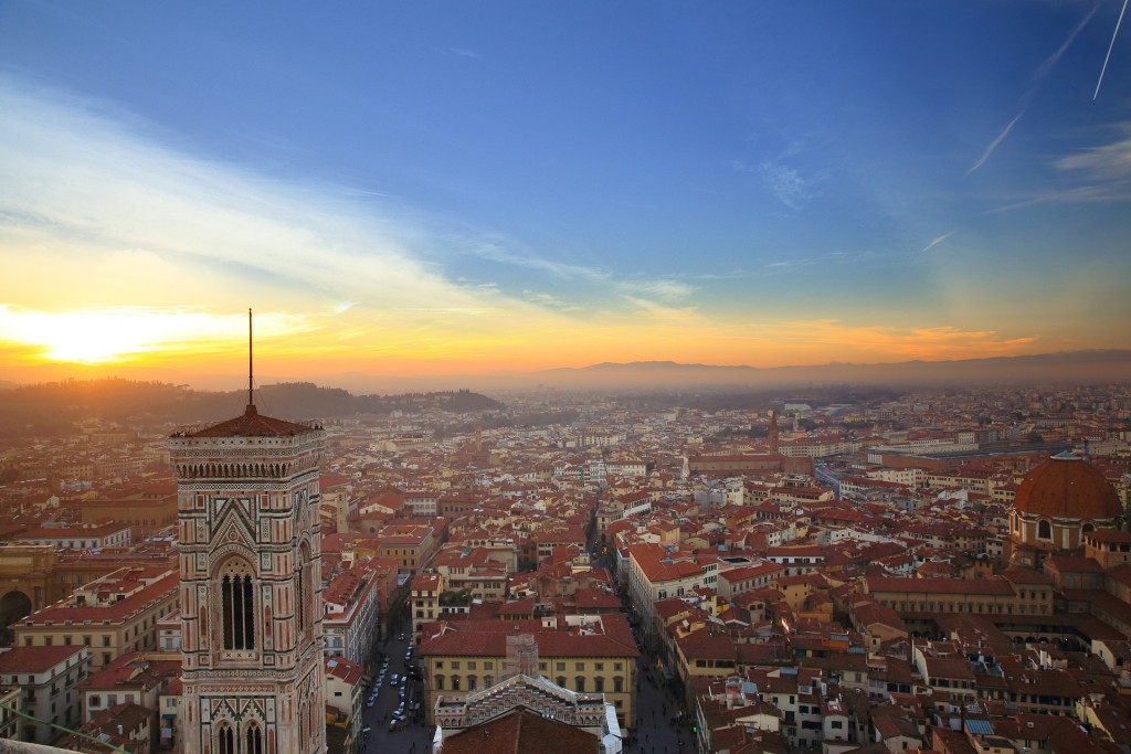 Stunning Views From The Best Rooftop Bars in Florence, Italy