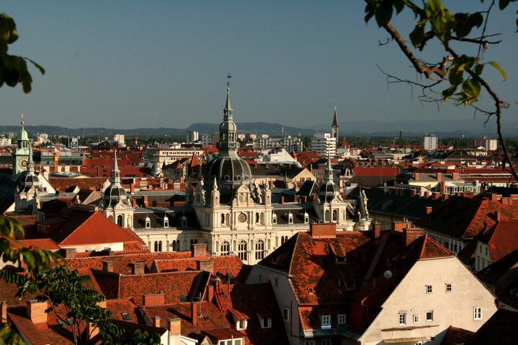 View of Graz/©Marion Schneider & Christoph Aistleitner/wikicommons