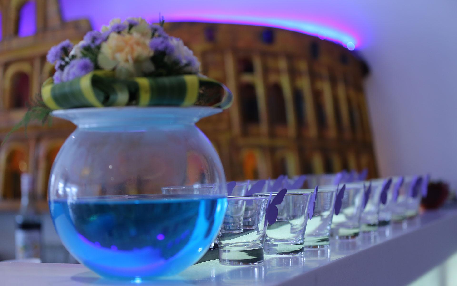Dining at Leonardo| Courtesy of Leonardo Italian Mediterranean Dining