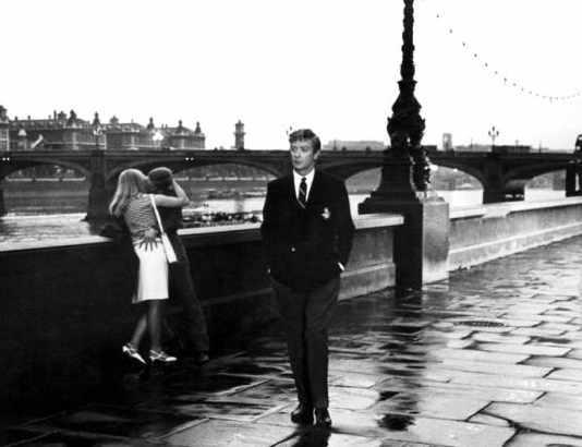 Alfie walking in London