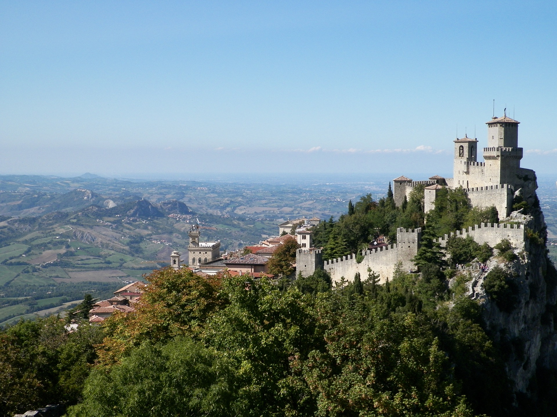 The Guaita fortress in San Marino | © Pixabay