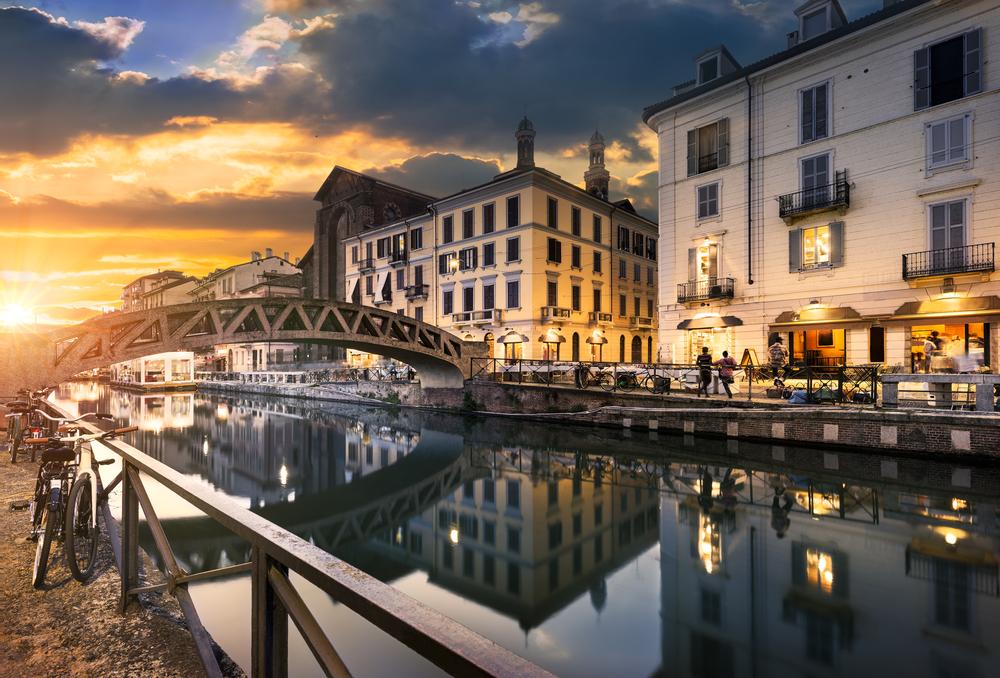 Naviglio Grande Canal | © ventdusud/Shutterstock