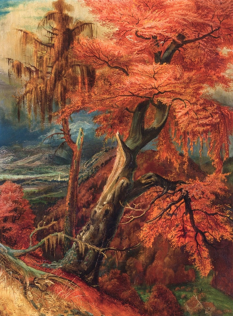 Famous Autumn Tree Paintings