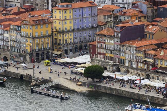 Porto: Praça da Ribeira | © Pedro Paulo Palazzo /Flickr