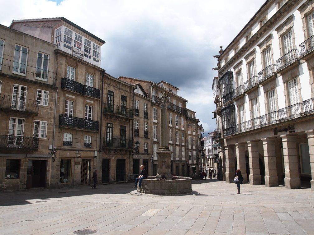 Plaza Cervantes, Santiago de Compostela |  © Davidh820 / Wikicommons