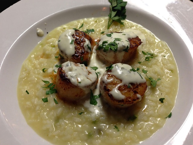 Scallops at Michael J's | Courtesy of Michael J's Italian Restaurant
