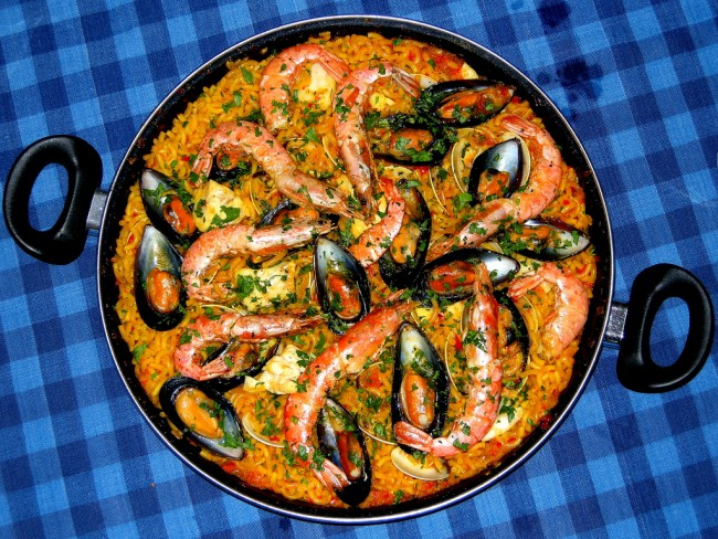 Seafood Paella| © Marcelo Guido /Flickr