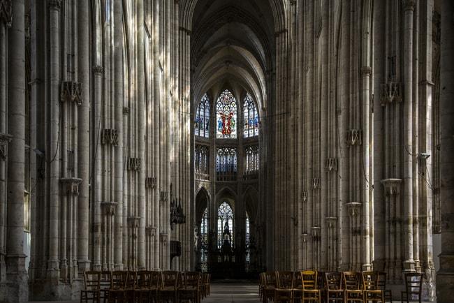 Abbaye Saint-Ouen de Rouen, France
