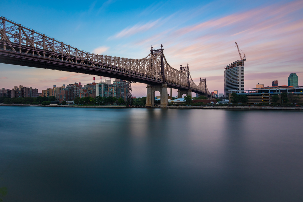 Queensboro Bridge during Sunset © Amar Raavi / Shutterstock