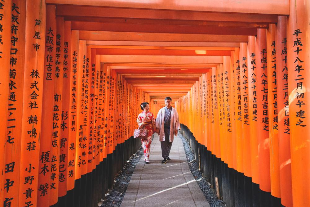 Walk through the Fushimi Inari Taisha © Flash D Hades / Shutterstock