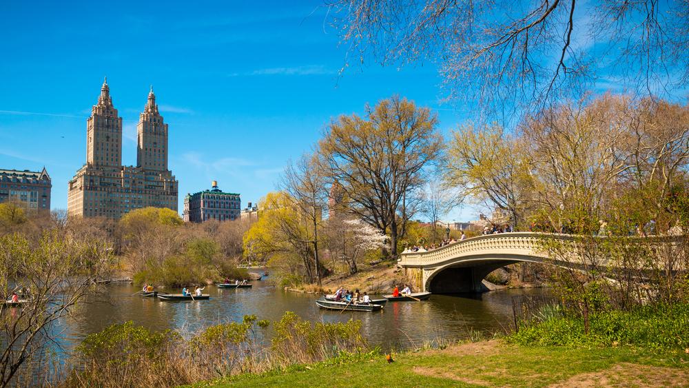 Bow Bridge, Central Park in Manhattan, New York City © Winston Tan / Shutterstock