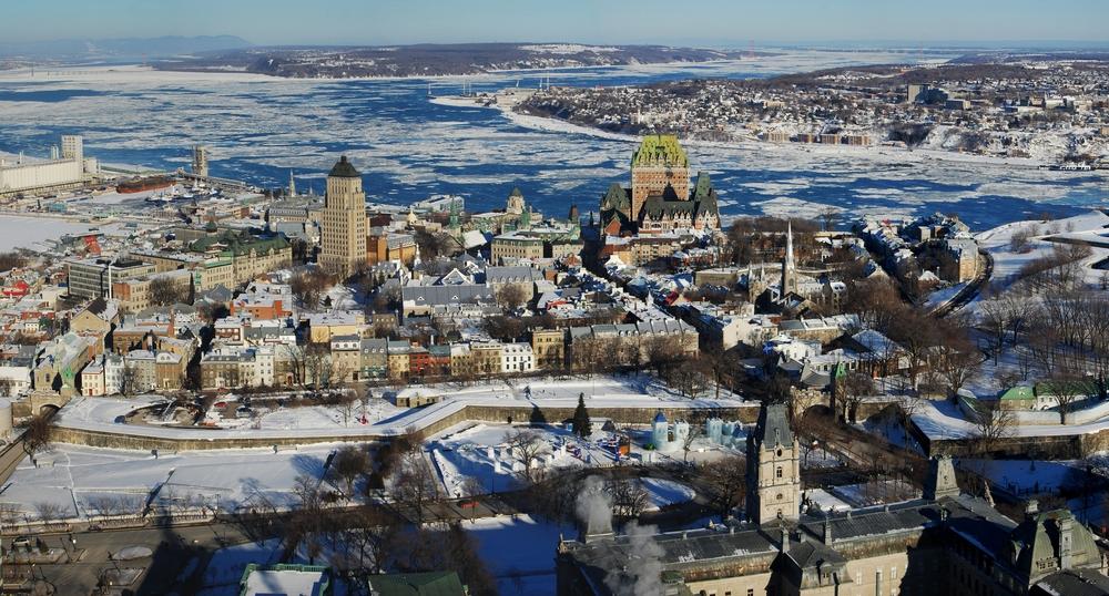Quebec City Panorama view from Observatoire de la Capitale ©jiawangkun / Shutterstock