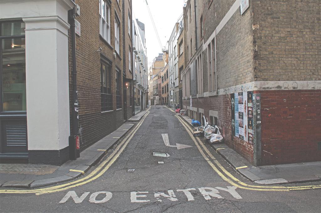 Soho No Entry | Courtesy of Jesse Stafford