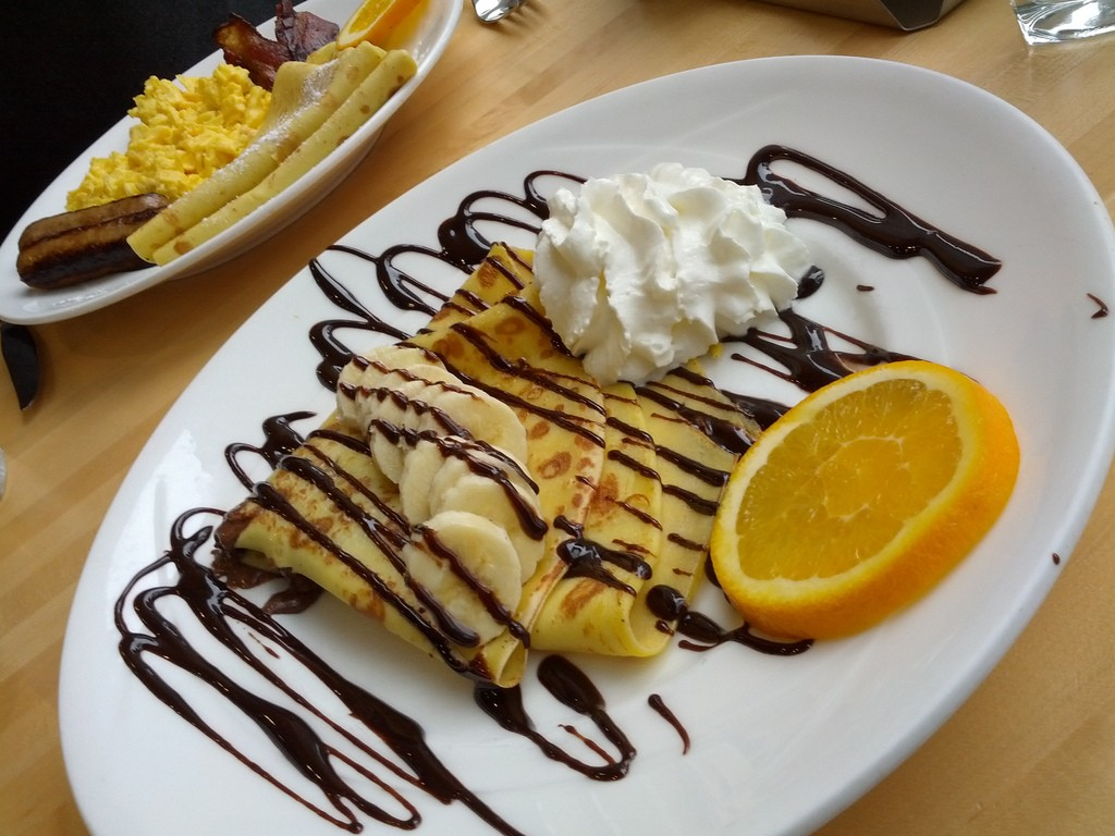Nutella Crepe at Yolk, courtesy of Flickr: