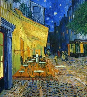 Vincent van Gogh, Terrace of a Café at Night | Frans Vandevalle/ Flickr