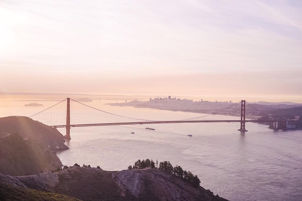 Golden Gate Bridge, View from Marin © Sasha Zvereva