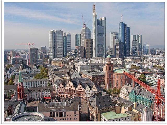 Frankfurt am Main - old and new town | © Jorbasa Fotografie/Flickr