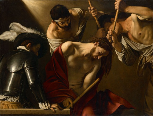 Caravaggio, The Crowning with Thorns, c. 1602/1604 | © Caravaggio/WikiCommons