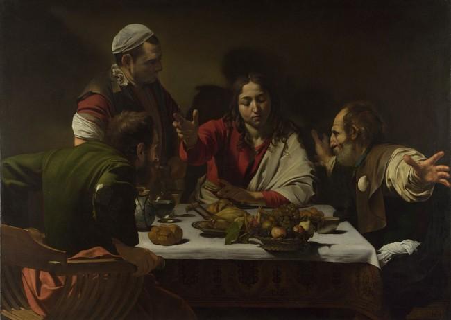 Caravaggio, The Supper at Emmaus, 1601 | © Caravaggio/WikiCommons