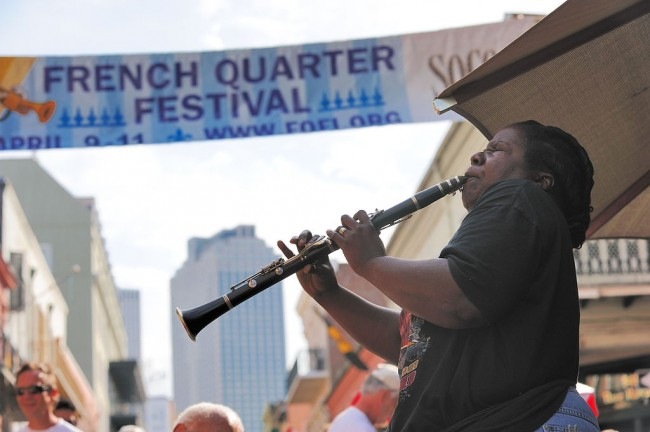 French Quarter Jazz Festival | © Aris Vrakas/Wikicommons