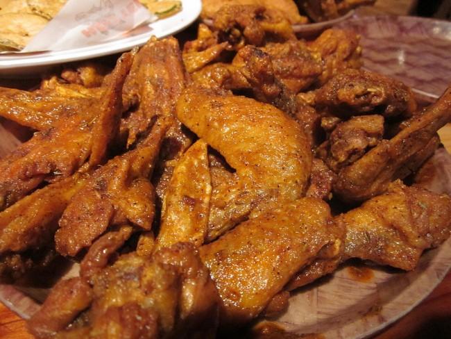 Super easy chicken breast recipe with creamy herb & white wine sauce.