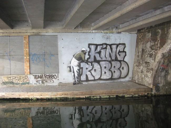 King Robbo One-Ups Banksy © Matt Brown/Wikimedia Commons