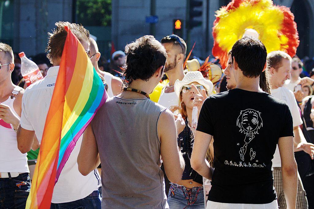 LGBT Pride Parade in Madrid (Spain) 2008 | © Roberto Gordo Saez/WikiCommons