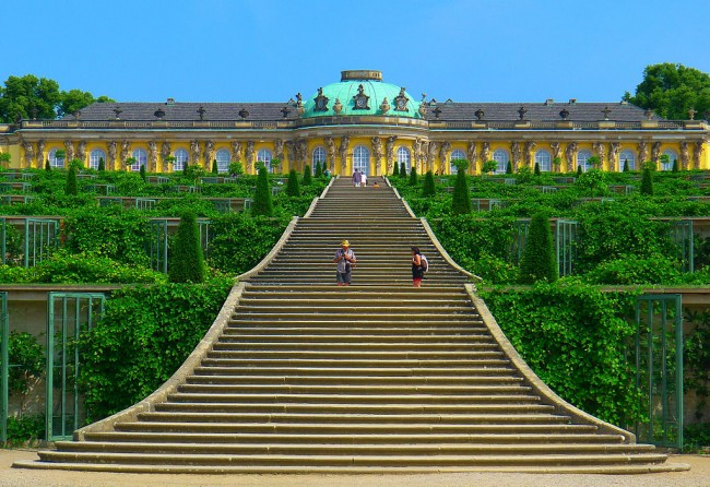 Palace Sanssouci | © Mbzt/WikiCommons