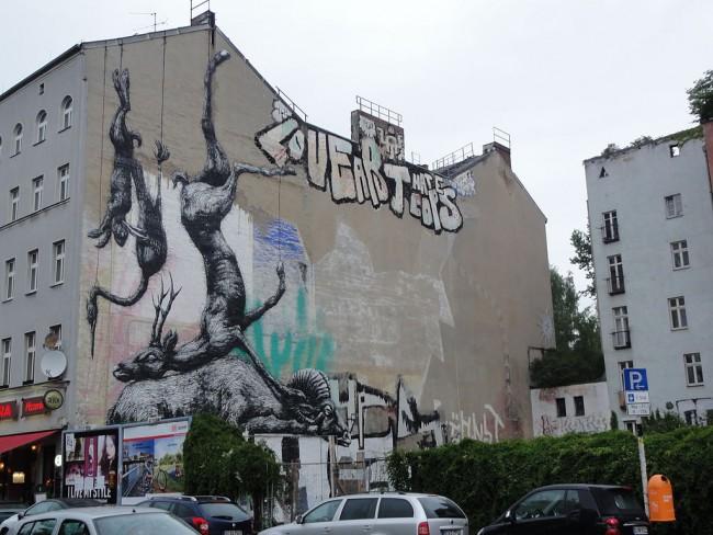 Street Art in Kreuzberg   © Dipsey/WikiCommons