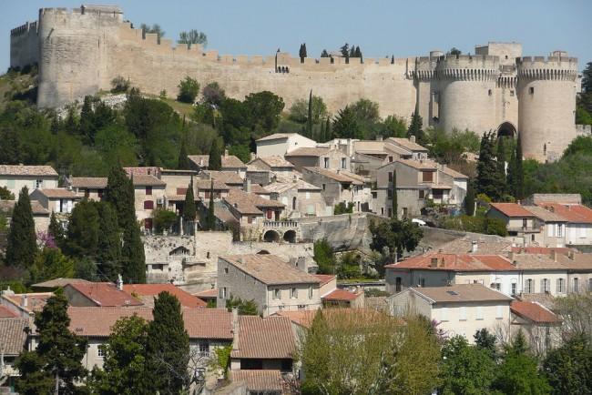 Vue sur le château fort Saint André © Vi..Cult.../WikiCommons