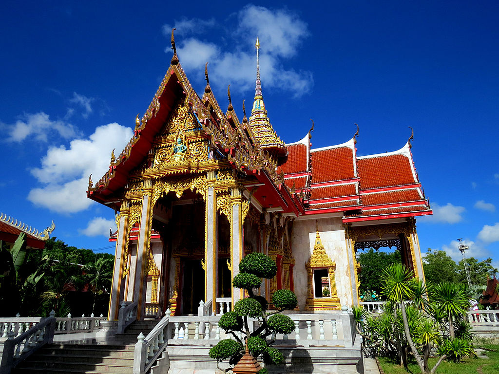 The temple of Wat Chalong, Phuket, Thailand | © Pekka Oilinki/WikiCommons