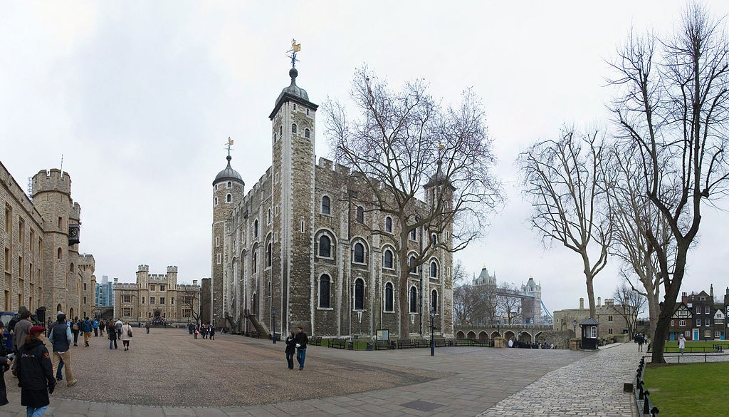 The White Tower, oldest part of The Tower of London | WikiCommons