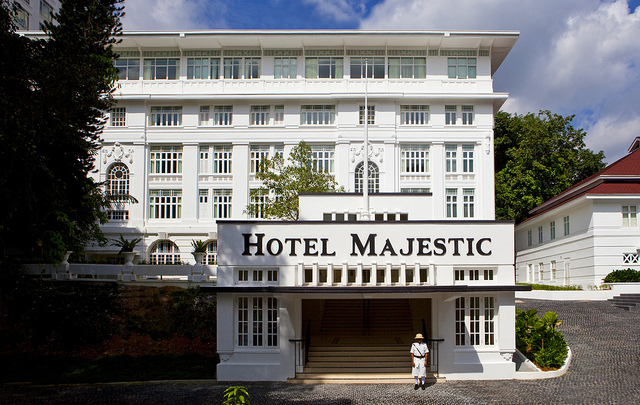 The Majestic Hotel Kuala Lumpur - Facade | © Roderick Eime/Flickr