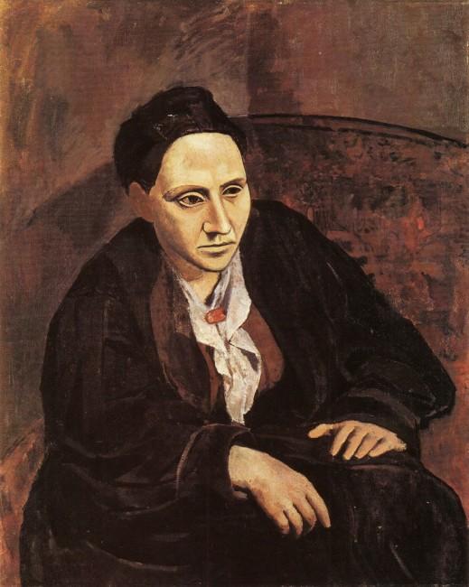 Portrait of Gertrude Stein [1905-6] | ©Nicho Design/Flickr