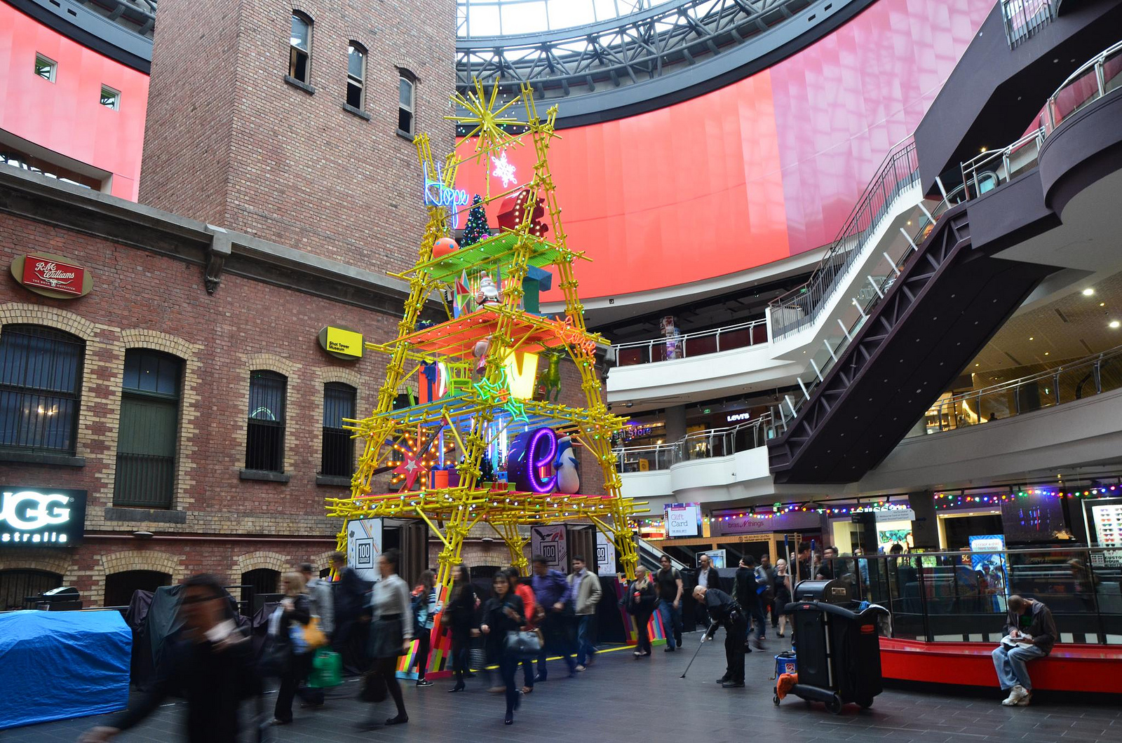 Christmas at Melbourne Central ©Alpha/Flickr