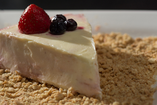 White chocolate cheesecake I © Austin Matherne/Flickr