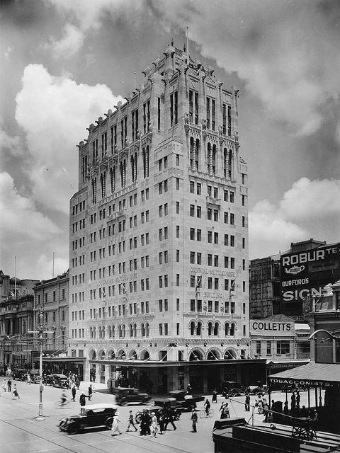 Colonial Mutual Life Building, Adelaide, 1935 © State Library of South Australia/Flickr