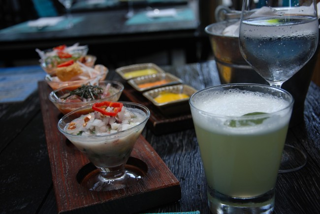 Ceviche sampler © collectmoments/Flickr