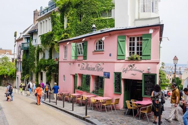 La Maison Rose, Montmartre | © Christophe Laigle/Flickr