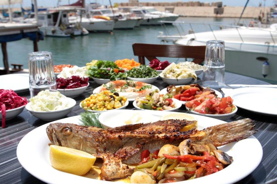 A delicious spread | © The Old Man and the Sea