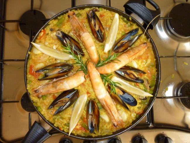 Paella seafood | © Schomynv/WikiCommons