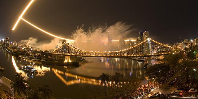 Brisbane Riverfire festival 2007 © Nicolas Suzor/Flickr