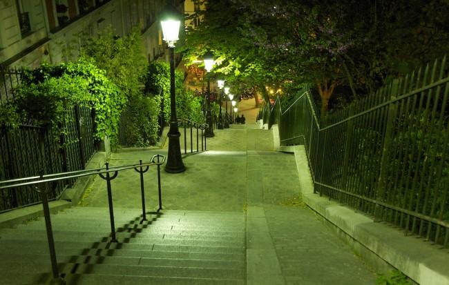 Stairway, Montmartre | © Emilio del Prado/Flickr