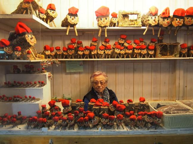El Caga Tió is basically Catalonia's version of Santa's stockings. @Aleksandra Klimowicz